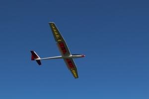 une situation de vol inhabituelle, croco activés à 100% et moteur en marche, pas vraiment une finale...
